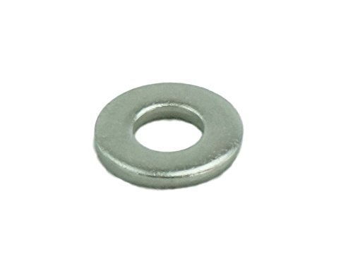 Stainless #10 Flat Washer, Stainless Steel 18-8 (100 pcs, 10 Flat Washer)