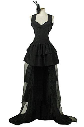 Womens Kamishiro Rize Cosplay Costume Dress Black XL Size