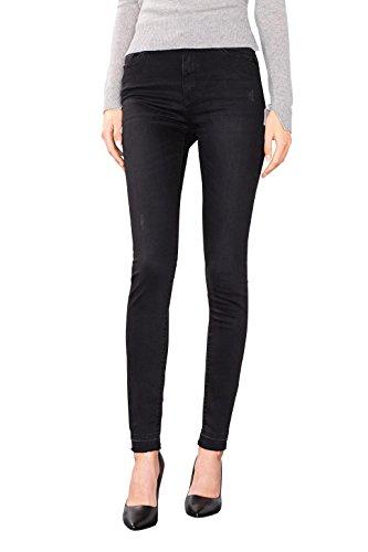 Medium Esprit 912 Jeans Femme Wash Black Noir P7wxn7IqzO