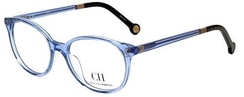 Carolina Herrera Designer Eyeglass Frame VHE612-095A in Blue 49mm