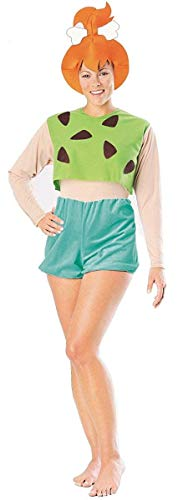 Rubie's Flintstones Pebbles Costume Adult Large Green -