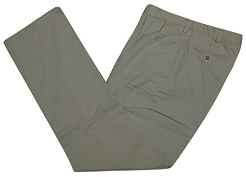 n's Big & Tall Classic-Fit Pleated Chino Pant, Stone, 54B-30 (Andrew Chino Pant)