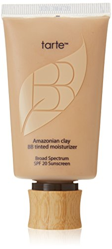 Tarte Cosmetics Amazonian Clay BB Tinted Moisturizer Broad Spectrum SPF 20, Light-Medium