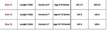 waitFOR Scarpe Bambina 0-18 Mesi Scarpe da Principessa con Fiocco Bimba Scarpe di Pelle Scarpine Primi Passi Regalo per Neonato Battesimo Pantofole Antiscivolo Sneaker Stivaletti