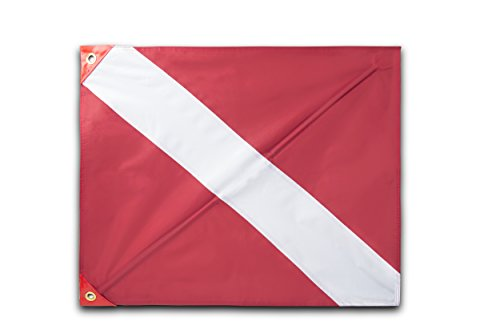 Premium Quality Dive Flag (20 Inch X 24 Inch) with