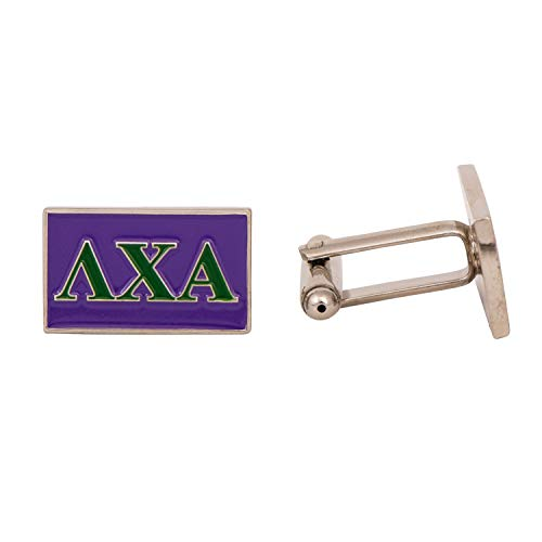Lambda Chi Alpha Fraternity Letter Cufflinks Greek Formal Wear Lambda ()