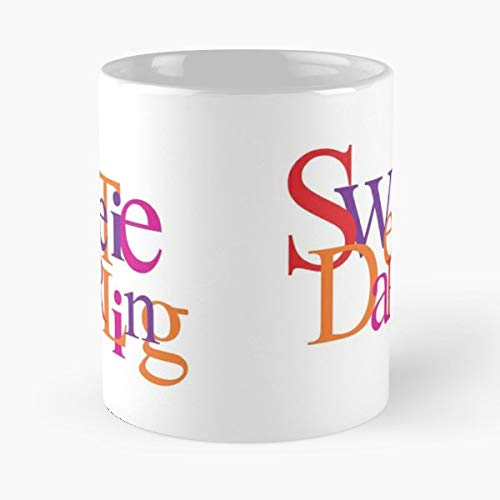 Absolutely Fabulous Sweetie Darling Catchphrase - Morning Coffee Mug Ceramic Best Gift