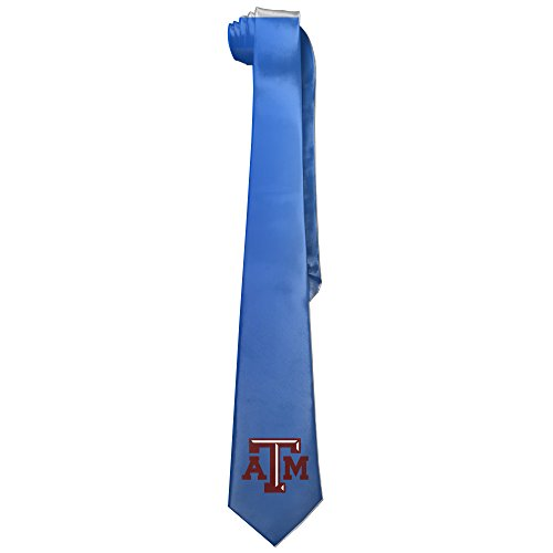 Ggift Texas A&M University Mens Fashion Business Solid Necktie Ties (Texas A&m Reveille Costume)