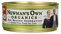 Newman's Own Organics USDA Organic 95% Chicken & Liver Grain