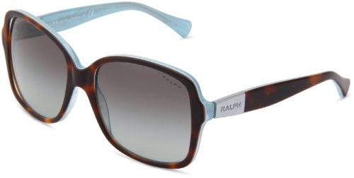 Ralph - Lunette de soleil RA 5165 Essential Ralph Plaque Wayfarer - Femme Turquoise