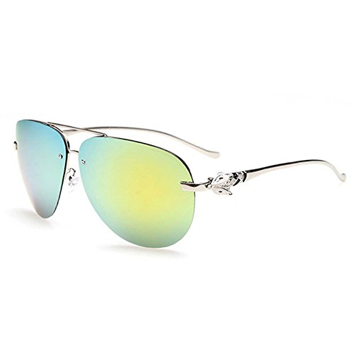 My.Monkey Advanced Fashion UV400 Polarized 100% UV protection Metal Frame Aviator - Sunglasses Imported Online Shopping