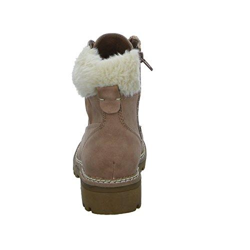 Alyssa 207444-021 Damen Schnürstiefelette Warmfutter Rot (Antikrosa)