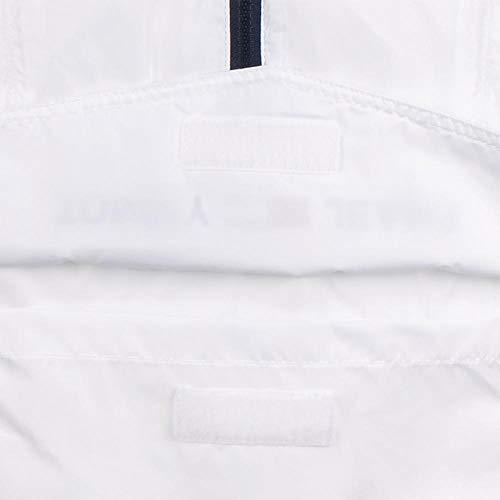 Jeans 100 Blouson Tommy Classique Blanc Shell Tjm Nylon Solid Popover Homme HqqdvY