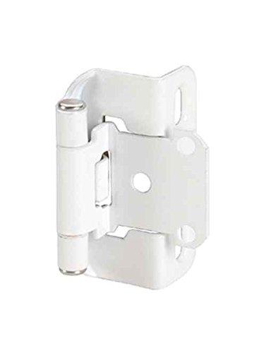 kitchen cabinet hinges white - 8