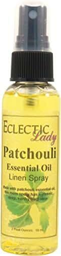 Patchouli Essential Oil Linen Spray, 8 ounces