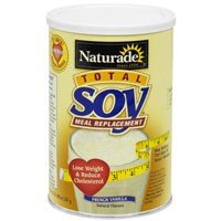 (Total Soy Meal Replacement - French Vanilla Naturade Products 1.1 lbs Powder)