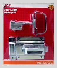 Ace Swinging Door Latch Zinc