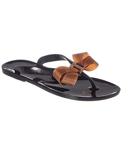 (Ted Baker Women's Suszie Flip Flop, Black, 7 B(M) US)