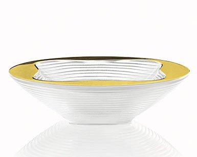 LALIQUE Crystal Trefle Bowl