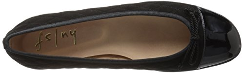 French Sole Fs / Ny Womens Passportr Ballet Flat Black