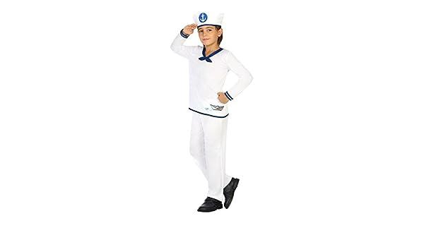 Atosa 20417 - marinero, niño Disfraz, 128: Amazon.es: Juguetes y ...