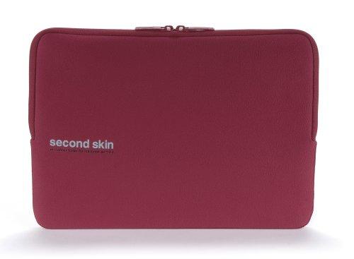 Tucano Second Skin Script Microfiber-Hülle & Displayschutztuch für MacBook Air, rot