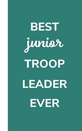 Best Junior Troop Leader Ever: Pocket Size To Do List Pad Notebook , Girl Scout  Leader Appreciation ()