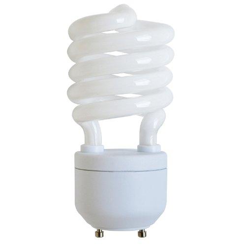 Sunlite SL27/GU24/27K SL27/GU24/27K 27-watt GU24 Spiral Energy Saving GU24 Base CFL Light Bulb, Warm White (Lamps Cfl Biax)