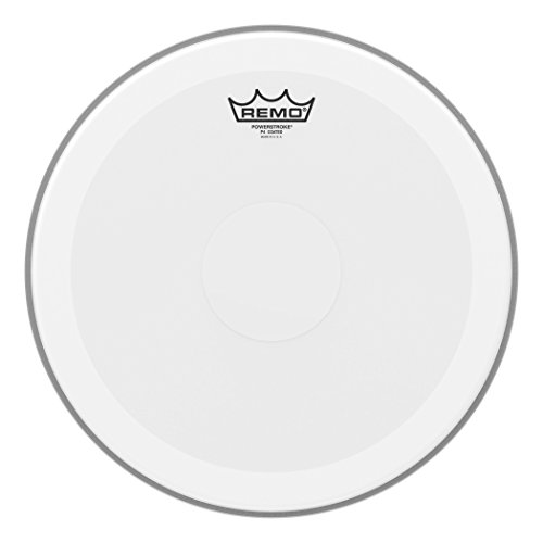 Remo P40114-C2 Coated 14-Inch Powerstroke 4 Drum Head - Clear - Coated Snare Powerstroke 3