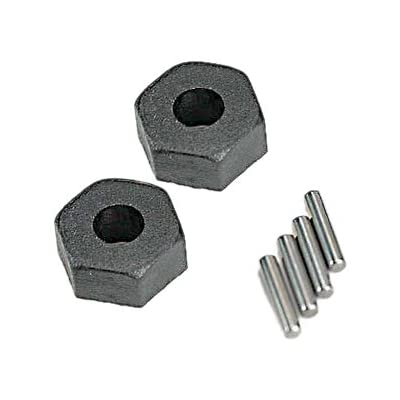 Traxxas 1654 Wheel Hubs with Axle Pins (pair): Toys & Games