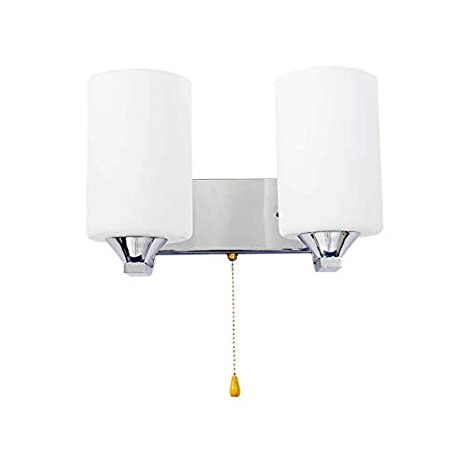 Glass Double Head Wall Light Bedside Reading Lamp E27 Bulb Led Wall Lamp Home Decor Lights Wall Sconce Bedroom Wall Lighting Contemporary Hgss 001 2