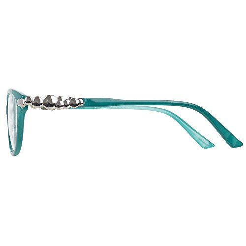 Pack of 4 Women's Reading Glasses - Stylish, Comfortable Ladies' Readers by Optix 55 (Image #3)