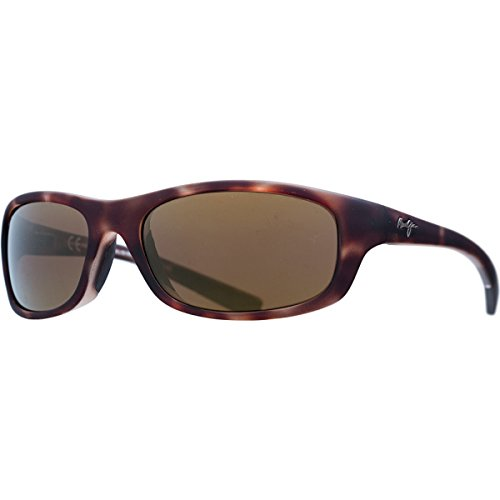 Maui Jim Kipahulu Polarized Sunglasses Matte Tortoise Rubber / HCL Bronze One - Jimsunglasses Maui