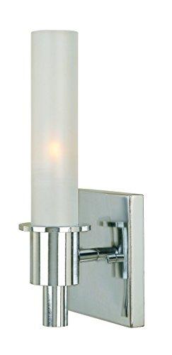 World Imports Lighting 7821-08 Dunwoody 1 Light Wall Sconce with Glass by World Imports Lighting