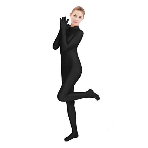 GAIBEST Lycra One Piece Unisex Finger Apart Unitards Full Bodysuit Spandex Skin Tights