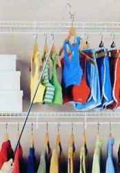 Organize It All Easy Reach Hook - Pole Hangers