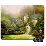 Beyond The Autumn Gate Mouse Pad, Mousepad (Houses Mouse (Beyond Autumn Gate)