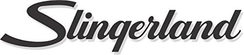 Slingerland Bass Drum Decal - Black ()