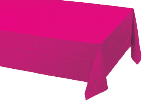 Creative Converting Paper Banquet Table Cover, Hot