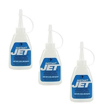 JET GLUE 764 Instant Jet 2 oz Pack of 12