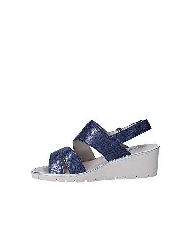 Sandales 11100 Bleu Femme Callaghan Plateforme BW5w7nHHq