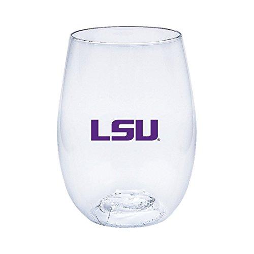 State University Wine Glass (Louisiana State University (LSU) Tigers Govino Shatterproof Wine Glass)