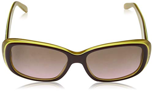 Amarillo Vogue Opal Yellow Pinkgradientbrown para mujer Purple de sol Gafas Urxg7arqX