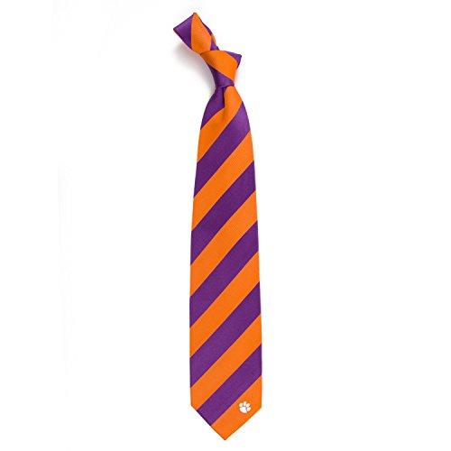 Eagles Wings Clemson University Regiment Woven Silk Tie