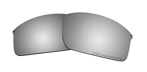Lenses Replacement for Oakley Wiretap New OO4071 Sunglasses Black Mirror Coatings ()