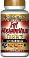 Майкла Природной-программы жирового обмена Факторы добавки, 180 Count