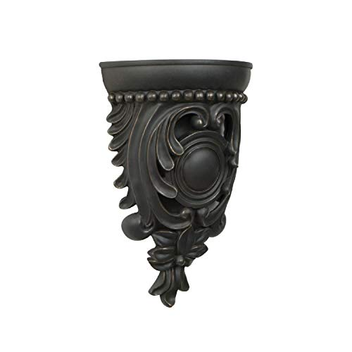 Craftmade CAC-FZ Designer Carved Corbel Door Chime, Hand Painted Florentine Bronze (12.13