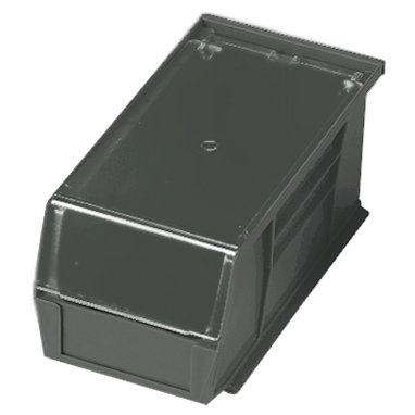 Devine Medical 1405 Super Tough Bin With Clear Lid, 4x3x7,Black by Devine Medical