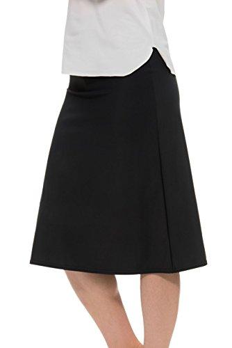 - Undercover Waterwear Ladies Black A-line Swim Skirt 4X