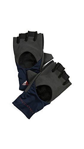 adidas by Stella McCartney Women's Training Gloves, Steel, One - Stella Shop Mccartney